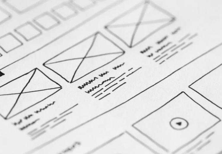 Design Sketch - The Web Orchard - Web Design Shrewsbury
