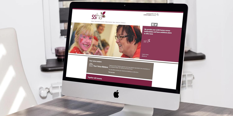 SSHA - The Web Orchard - Web Design Shrewsbury