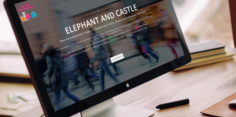 Elephant & Castle - The Web Orchard - Web Design Shrewsbury