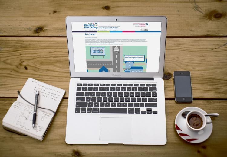 Housing Plus Group - The Web Orchard - Web Design Shrewsbury