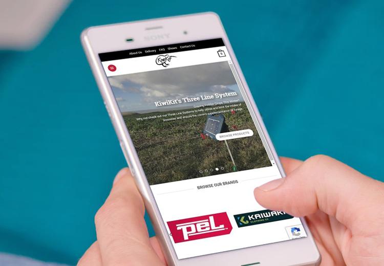 KiwiKit Phone - The Web Orchard - Web Design Shrewsbury