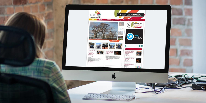 Love Shrewsbury - The Web Orchard - Web Design Shrewsbury
