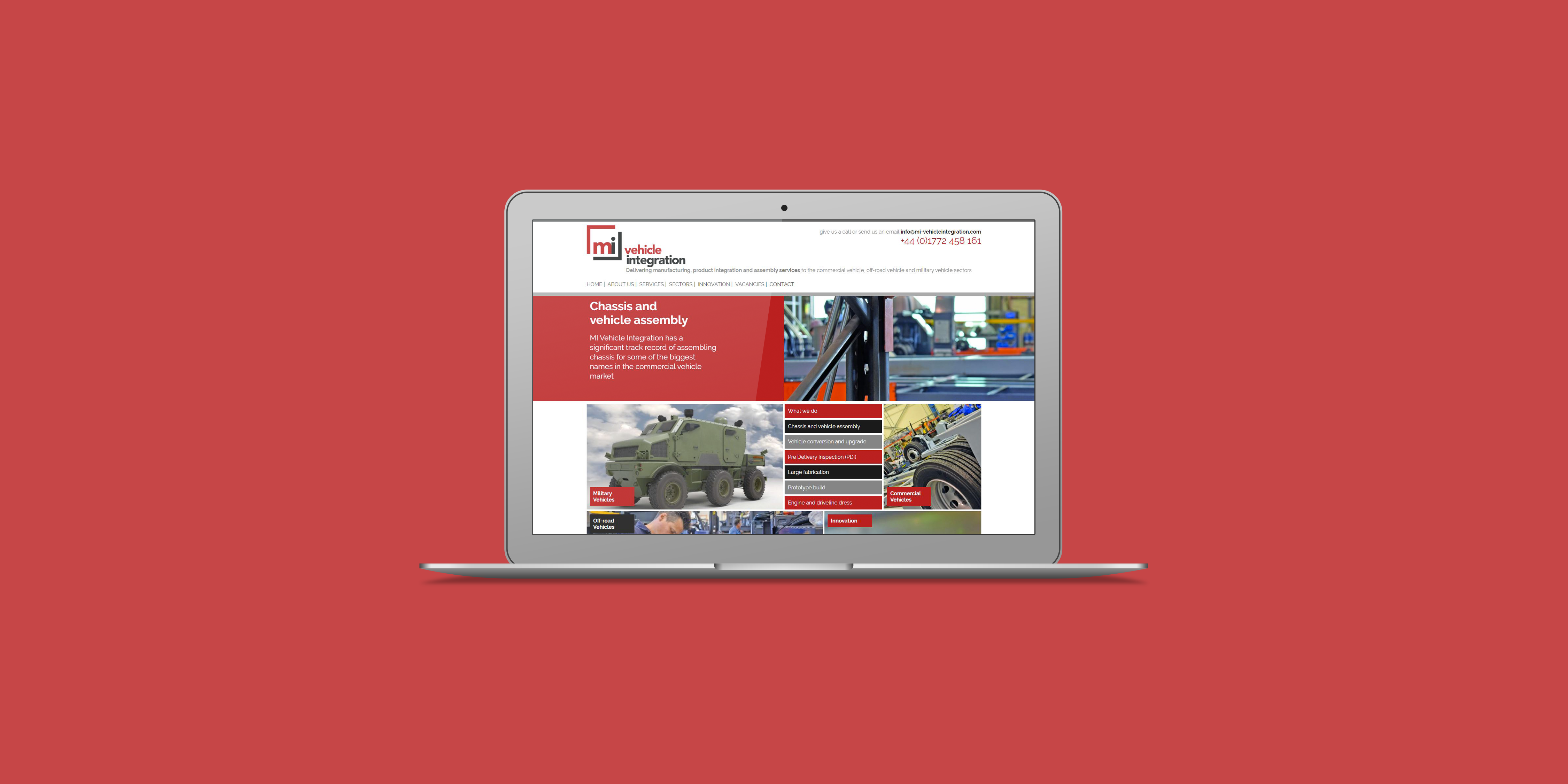 MI Vehicle Integration - The Web Orchard - Web Design Shrewsbury