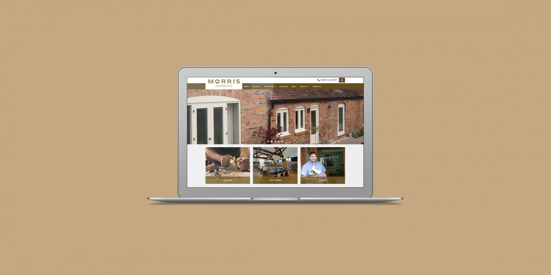 Morris Joinery - The Web Orchard - Web Design Shrewsbury