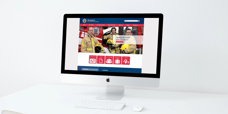 Shropshire Fire & Rescue - The Web Orchard - Web Design Shrewsbury