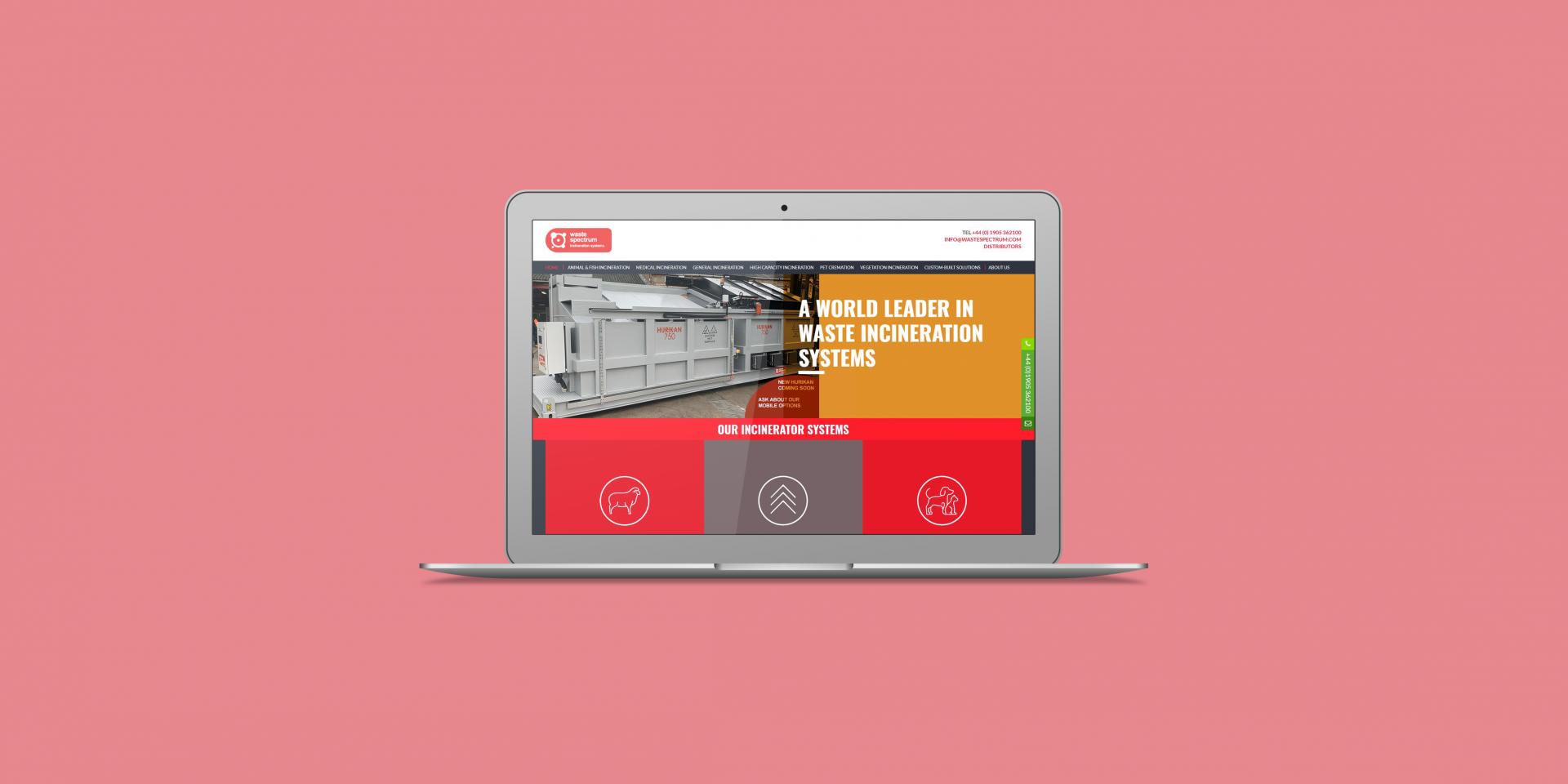 Waste Spectrum - The Web Orchard - Web Design Shrewsbury